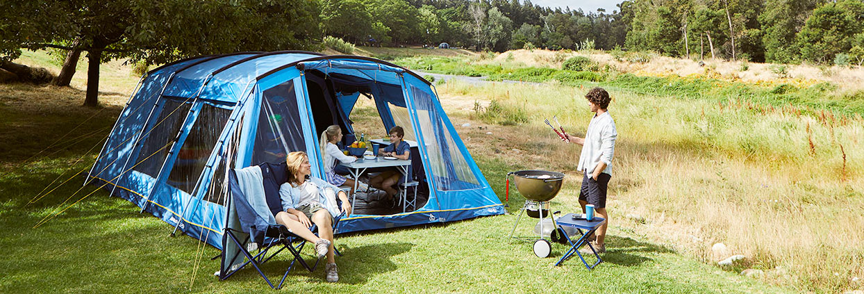 used camping equipment